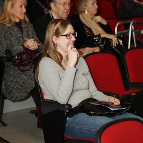 Me in the audience... :)