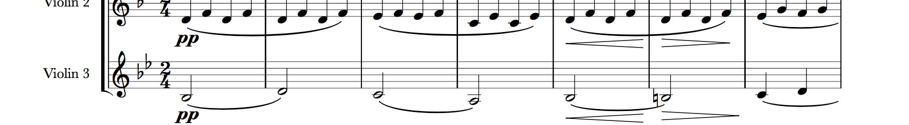 Rosamunde Entr'acte No. 3 (for Three Violins)