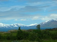 Mountains near Akureyri