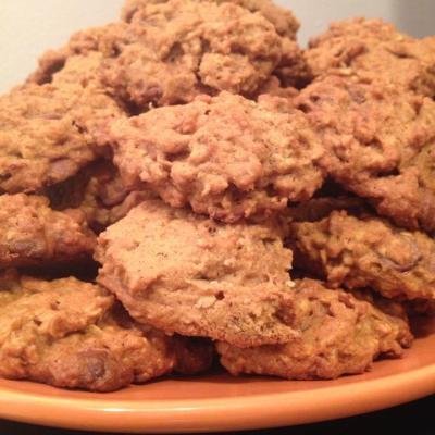 {Recipe} Pumpkin Oatmeal Chocolate Chip Cookies