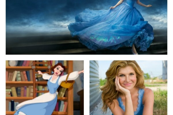 Three Fictional Characters, Cinderella, Belle, Tami Taylor