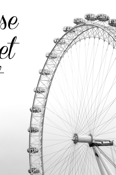 London Reverse Bucket List