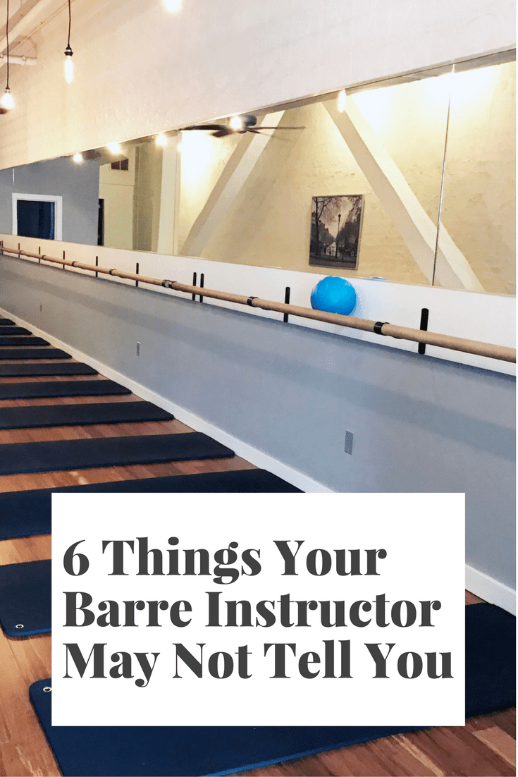 6 things your barre instructor may not tell you sarah wyland xflitez Gallery