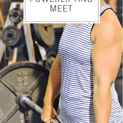 I Signed Up For My First Powerlifting Meet