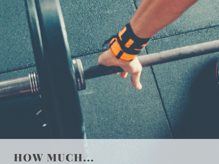 How Much Weight Should I Be Lifting