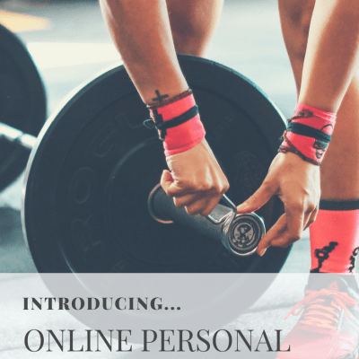Introducing… Online Personal Training Programs!