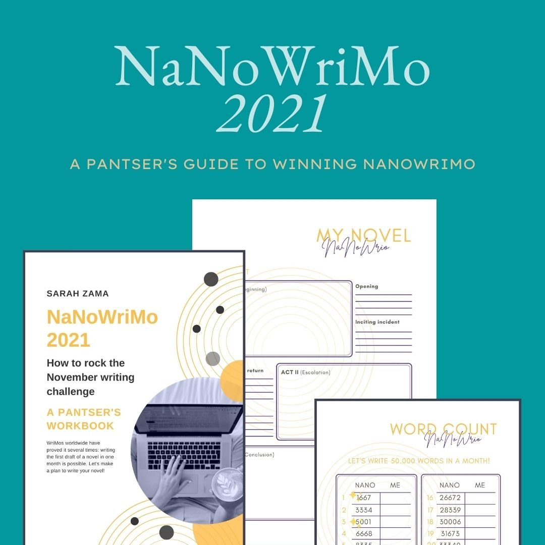 Ready to win NaNoWriMo? Let's prepare the best chance for your project! My NaNoWriMo workbooks are available. This is what I've learned to be effective in my decade-long participation in NaNoWriMo.