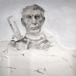 Samuel Beckett Memorial Sarah Zar drawing