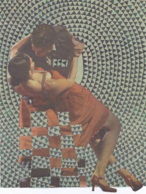 Triangle Tango Sarah-Zar romantic dancers dip