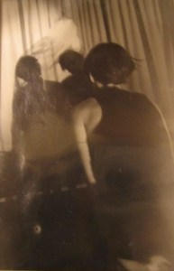Uncanny sepia ghost photography by Sarah Zar