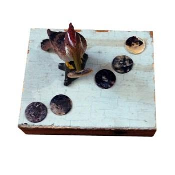 woodpecker button factory