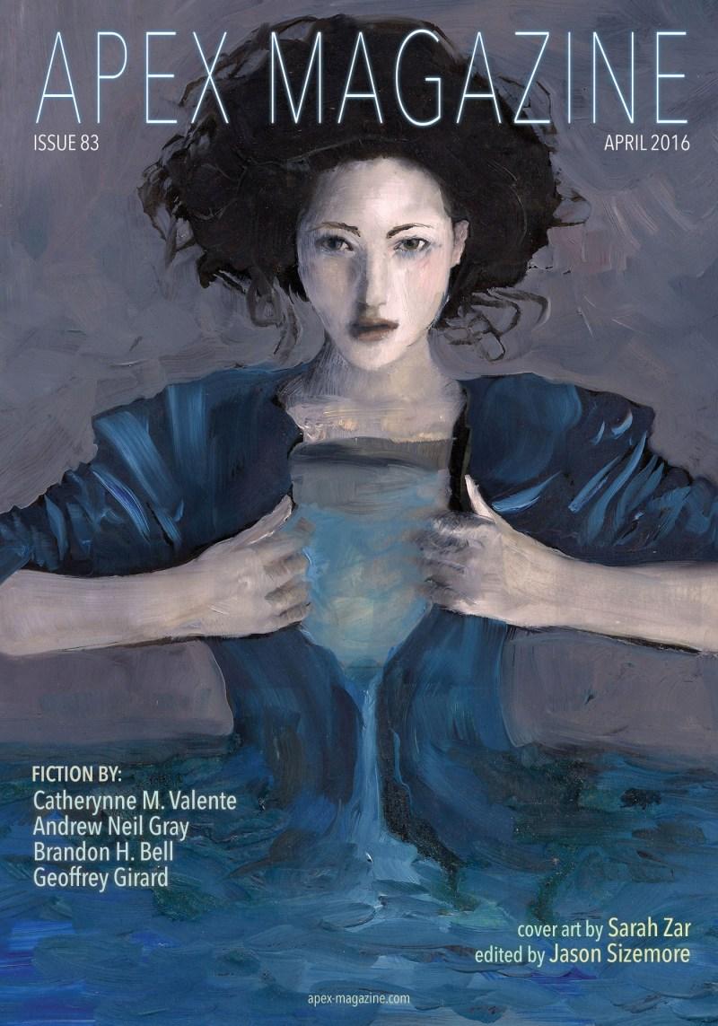 Apex Magazine 83 cover art by Sarah Zar