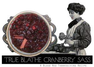 Sarah Zar's Famous Cranberry Sauce Recipe