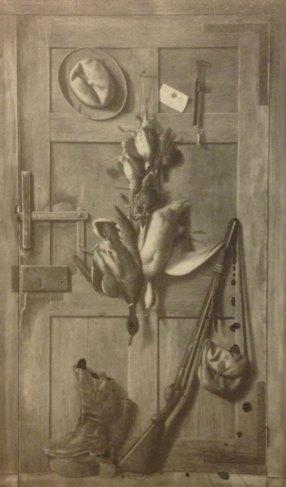 ~Hunter's Cabin Door, via Richard La Barre Goodwin