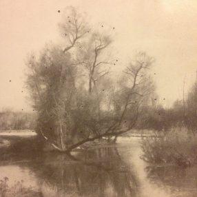 ~Early Spring Landscape, via Edmund Elisha Case