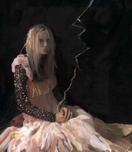 lightning woman portrait by Sarah Zar
