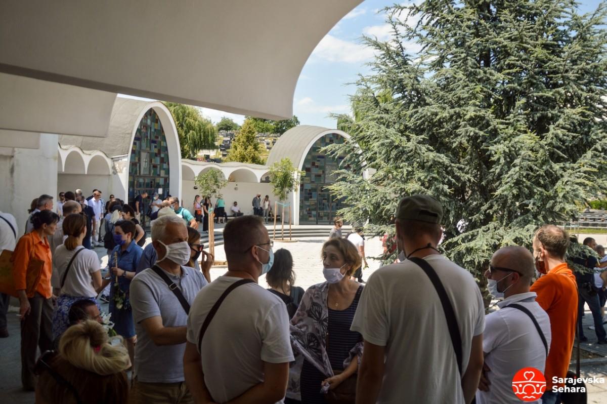 Foto: Adi Smajić - Sarajevska sehara/ Posljednji ispraćaj Jasmina Džemiđića