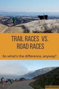 Trail Races v. Road Races
