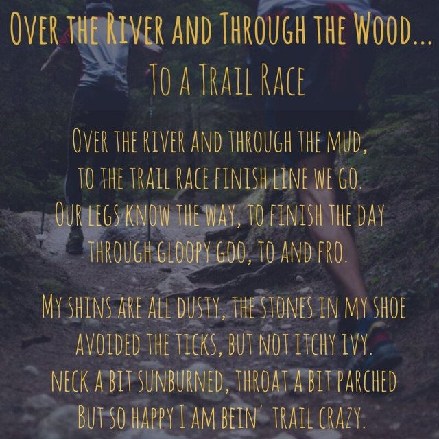 Over the River to a trail race
