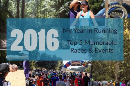 2016 Recap Year in Running