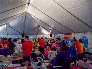 Big Sur Marathon Start Line Tent