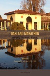 Oakland Marathon recap 8