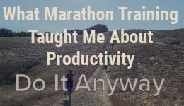 Marathon Productivity