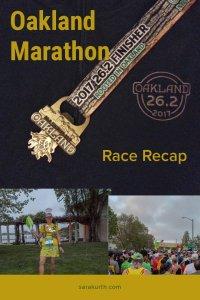 Oakland Marathon Recap