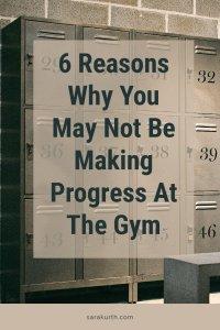 No Progress At The Gym