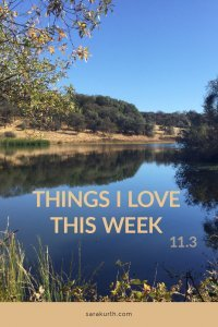 Things I Love 11 3