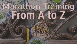 Marathon Training A to Z