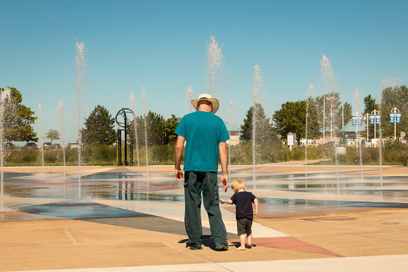 Whirlpool Compass Fountain st. Joseph, Michigan