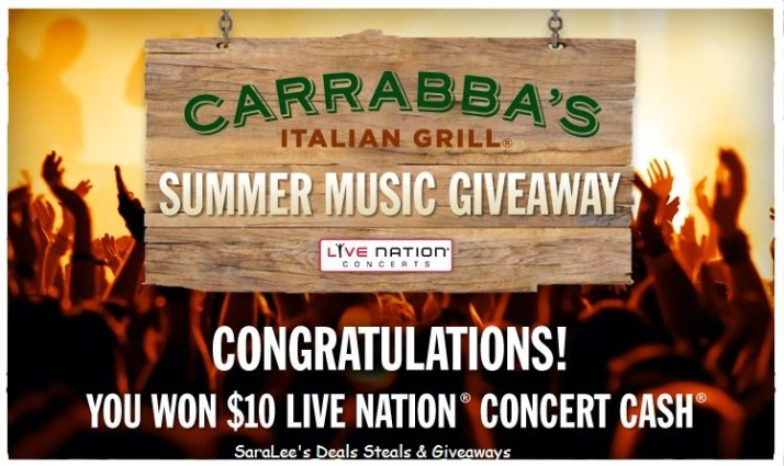 The Carrabba's Italian Grill Summer Music Giveaway