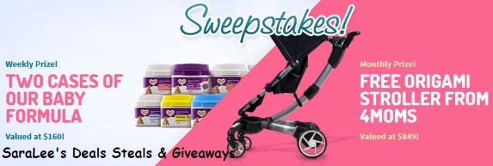 Storebrandformula.com Free Baby Formula Sweepstakes