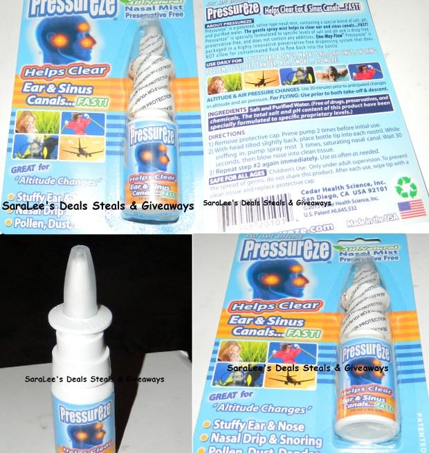 Pressureze Nasal Mist