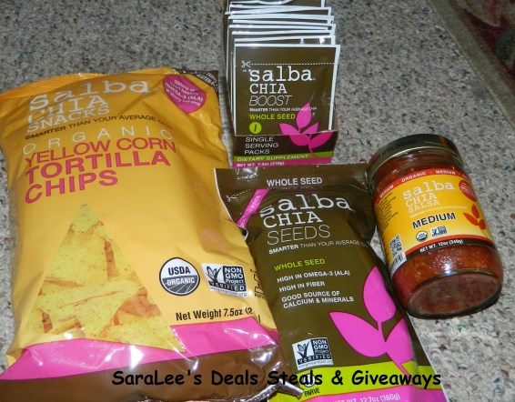 Salba Chia Seeds products