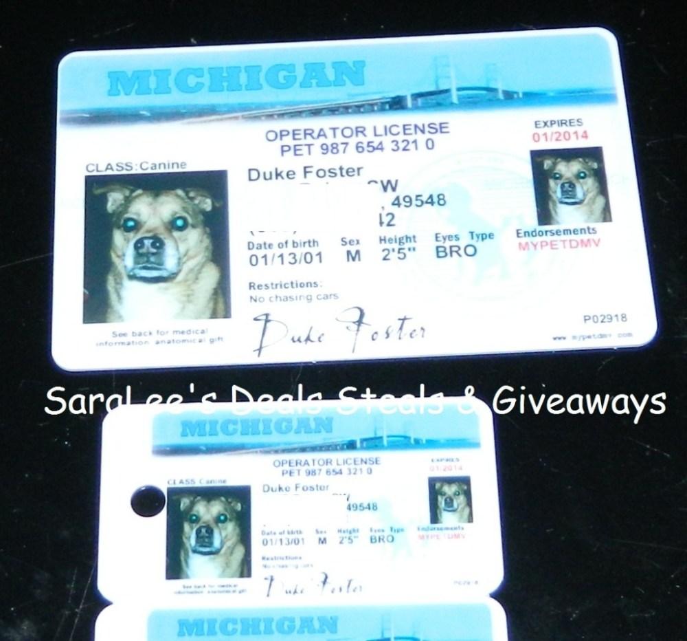 MyPetDMV Dog & Cat license (1/3)