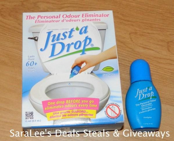 Just a Drop: Bathroom Odor Eliminator