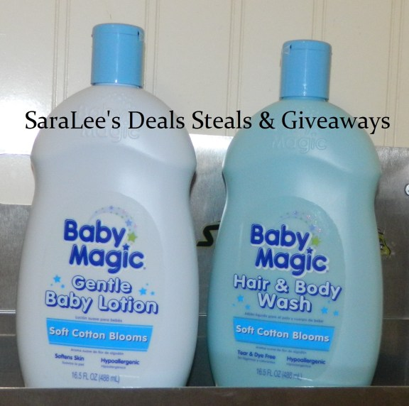 Baby Magic Soft Cotton Blooms Lotion / Hair & Body Wash