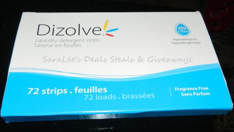 Dizolve Ultra Laundry Detergent Strips
