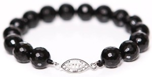 Faceted Onyx Bracelet (3/4)