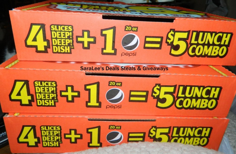 Little Caesars $5 HOT-N-READY Lunch Combo (3/4)