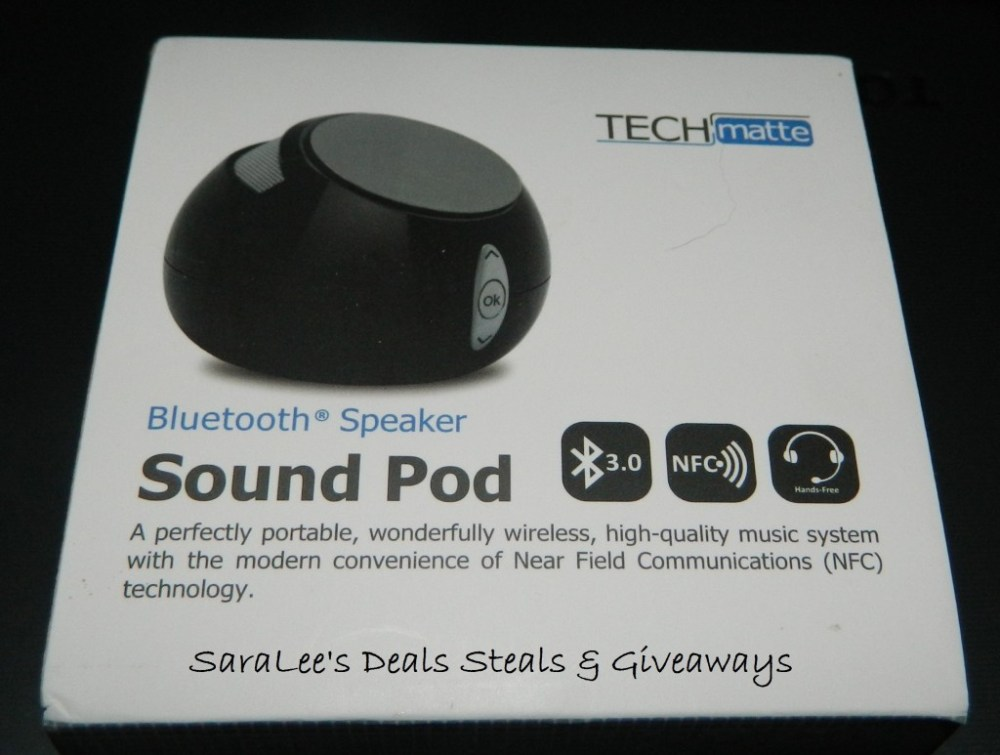 TechMatte Sound Pod Bluetooth Speaker #techmatte (1/4)