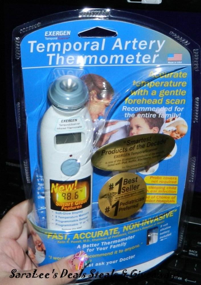 Exergen TemporalScanner (1/4)