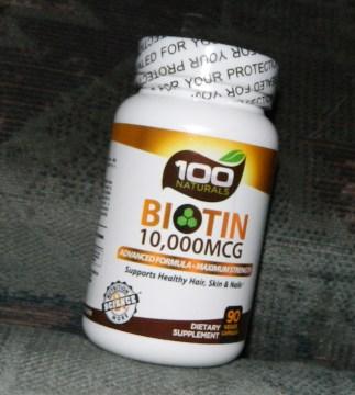 Pure Biotin 10,000 MCG
