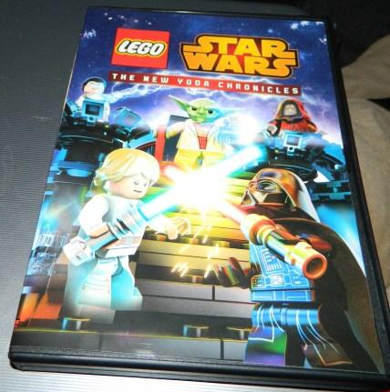 Lego Star Wars: The New Yoda Chronicles DVD