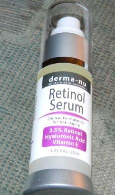 Derma-nu Retinol Serum 2.5% with Hyaluronic Acid Serum