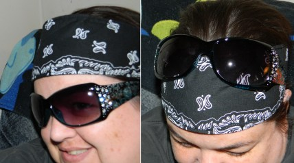 3 Assorted Bandana Headbands No Slip, No Drip Sport Headbands