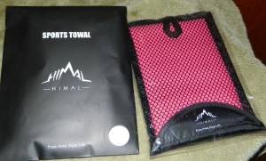Microfiber Towel, Fast Drying Ultra Compact Absorbent