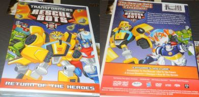 Transformers Rescue Bots: Return Of The Heroes